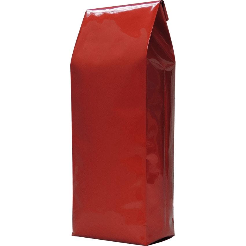 250g side gusset bag shiny red