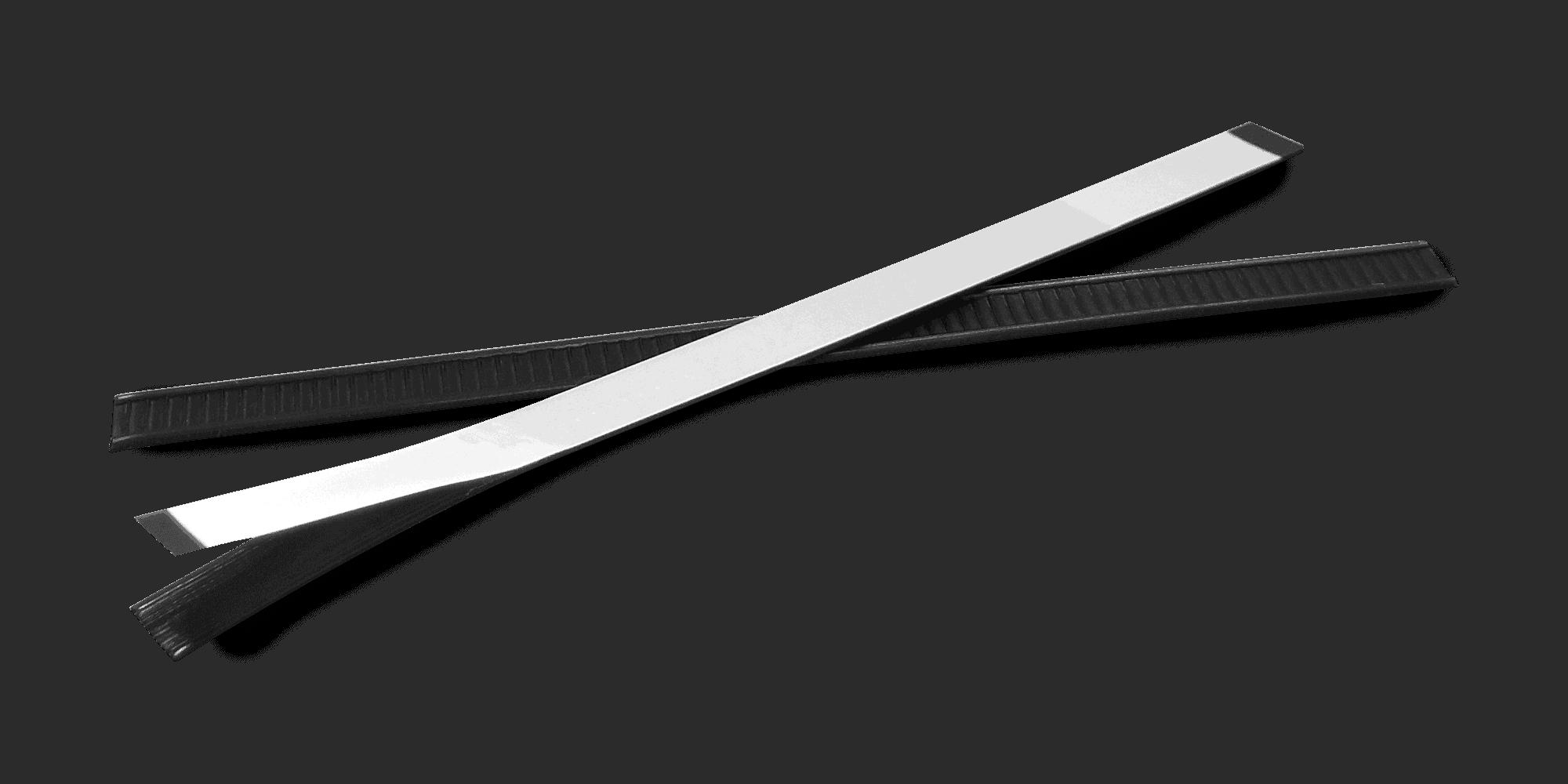 black tin ties for coffee packaging