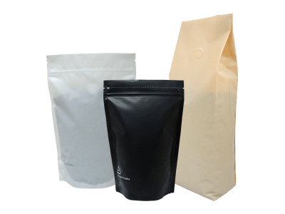 recyclable bags for coffee and tea